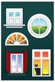 okno Obrazy Royalty Free