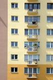 okno balkonów zdjęcie royalty free