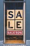 Okno Dla sprzedaż znaka Obrazy Stock