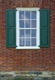 okno domu wiejskiego obrazy stock
