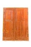 okno drewniani Zdjęcia Stock