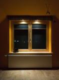 okno drewniani Zdjęcie Stock