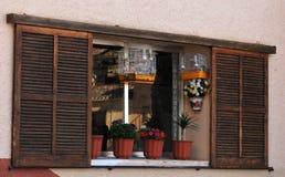okno drewniany Fotografia Stock