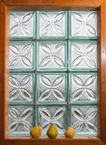 Okno i bonkrety Zdjęcie Stock
