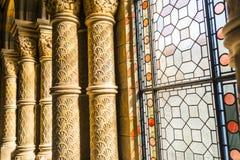 Okno i filar Obraz Stock