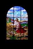 okno kościoła Obraz Royalty Free