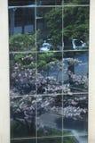 Okno lustro Obrazy Stock