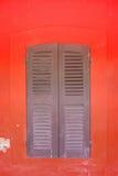 Okno na ścianie Zdjęcia Stock