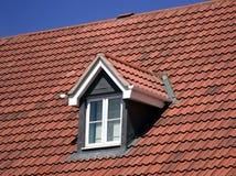 okno na dachu obrazy stock