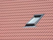 okno na dachu Fotografia Stock