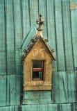 Okno na dachu Zdjęcia Royalty Free