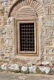 Okno na Osmańskiego imperium budynku obraz stock