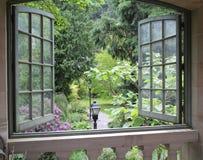Okno na świacie Fotografia Stock