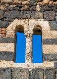Okno niebiański Saccargia Obrazy Stock