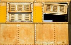 Okno pociąg Zdjęcie Stock