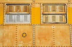 Okno pociąg Obraz Royalty Free