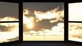 Okno sposobność Obrazy Stock