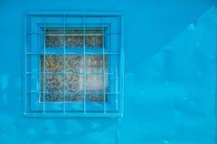 Okno przy robotniczym ` s schronieniem Fotografia Royalty Free