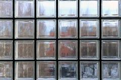Okno robić przejrzyści szkło kwadraty i czarne części między obrazy royalty free
