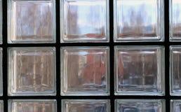 Okno robić przejrzyści szkło kwadraty i czarne części między zdjęcie stock