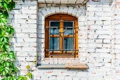 Okno rocznika buildung Obrazy Royalty Free