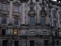 Okno seansu światła dalej Obrazy Stock