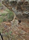 Okno skała przy obwieszenie skały stanu parkiem Zdjęcia Stock