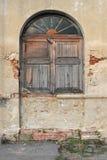Okno stary obraz stock