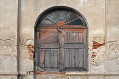 Okno stary obrazy stock