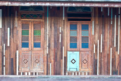 Okno stary dom Fotografia Stock