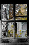 Okno, stary okno Obrazy Royalty Free