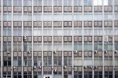 Okno, szkło i beton Biurowi, konstruktywizm obrazy stock