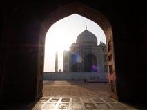 Okno Taj Mahal Obrazy Royalty Free