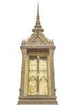 Okno Tajlandzka świątynia Zdjęcie Royalty Free