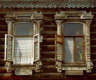 Okno Tomsk Obraz Royalty Free