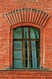 Okno w ściana z cegieł Fotografia Royalty Free