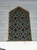 Okno w ścianie, zamknięta siatka Obrazy Royalty Free