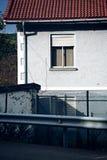 Okno w budynku i fasady zdjęcia stock