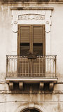 Okno w Ragusa Obrazy Royalty Free