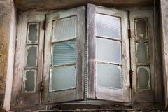 Okno w starym budynku Obrazy Royalty Free