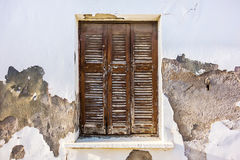 Okno W Starym domu Obraz Stock
