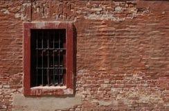 okno więzienie. Zdjęcia Stock