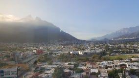Okno widok wypięknia miasto Obraz Stock