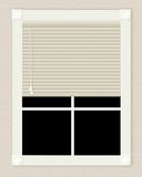 okno z kości słoniowej Obraz Stock