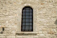 Okno z kratownicą Fotografia Royalty Free