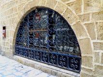 Okno z kratownicą Fotografia Stock