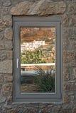 Okno z widokiem Zdjęcie Royalty Free
