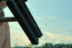 okno zmywania Obraz Royalty Free