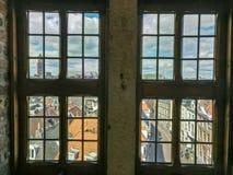4 okno Zwolle Fotografia Stock