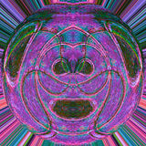 oko abstrakcyjne Obrazy Royalty Free